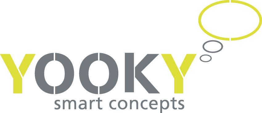 YOOKY, smart concepts Logo